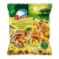 Блюдо китайское Свинина в кисло-сладком соусе 4 сезона