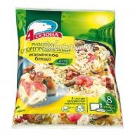 Блюдо итальянское Ризотто с морепродуктами 4 сезона