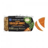 Хлебцы Fazer Овощи-микс капуста и морковь