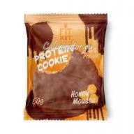 Печенье FITKIT Choco Protein Cookie Honey Mousse (Медовый Мусс)