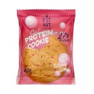 Печенье FITKIT Protein Cookie Bubble Gum (Бабл-Гам)