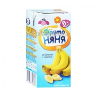 Нектар ФрутоНяня из бананов с мякотью