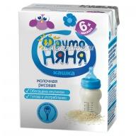 Рисовая кашка ФрутоНяня молочная жидкая