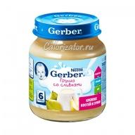 Пюре Gerber Груша со сливками
