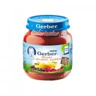 Пюре Gerber Яблоко с лесными ягодами