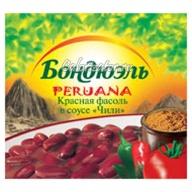 Фасоль Бондюэль красная в соусе Чили