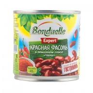 Фасоль Бондюэль красная в томатном соусе чили
