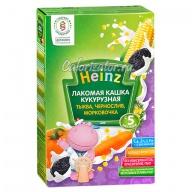 Кукурузная кашка Heinz тыква чернослив морковочка молочная