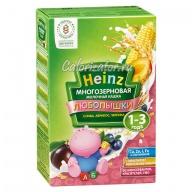 Многозерновая кашка Heinz Любопышки слива абрикос черника молочная