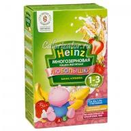 Многозерновая кашка Heinz Любопышки банан клубника йогуртная