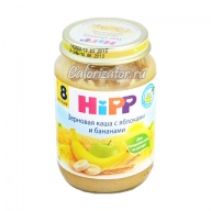 Зерновая каша Hipp с яблоками и бананами