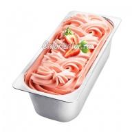 Мороженое сливочное клубничное