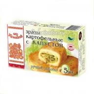 Зразы картофельные от Ильиной с капустой