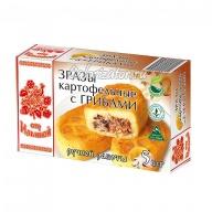 Зразы картофельные от Ильиной с грибами