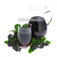 Черноплодно-рябиновый сок