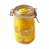 Лимон маринованный