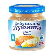 Пюре Бабушкино Лукошко Сёмга Овощи