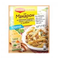 Приправа Maggi На второе для макарон в сливочно-сырном соусе с курицей и грибами