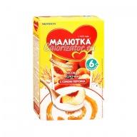 Рисовая каша Малютка молочная с соком персика