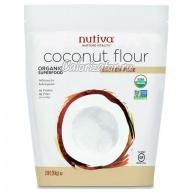 Мука кокосовая Nutiva безглютеновая