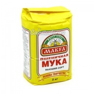 Мука пшеничная высшего сорта Makfa