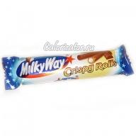 Шоколад MilkyWay Crispy Rolls