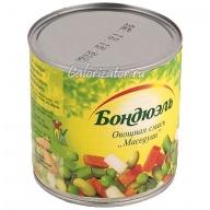 Овощная смесь Бондюэль Маседуан