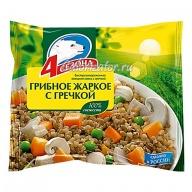 Овощная смесь 4 сезона Грибное жаркое с гречкой