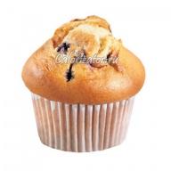 Десерт Маффин с чёрной смородиной