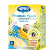 Рисовая каша Nestle молочная с бананом