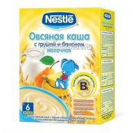 Овсяная каша Nestle молочная с грушей и бананом