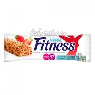 Батончик Nestle Fitness с цельными злаками и клубникой