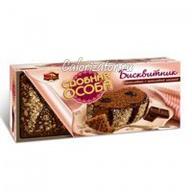 Бисквитник Сдобная особа шоколадный с шоколадной начинкой