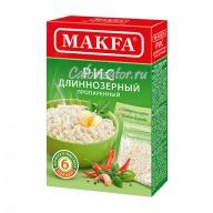 Рис Makfa длиннозерный пропаренный в пакетиках
