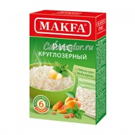 Рис Makfa круглозерный в пакетиках