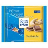 Шоколад Ritter Sport зимний Ванильный Рогалик