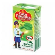 Сок Сады Придонья Яблочный из зелёных яблок
