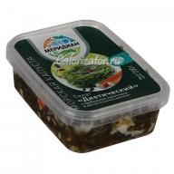 Салат из морской капусты Диетический с крабовыми палочками