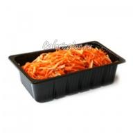 Морковь по-корейски с кальмарами готовая