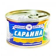 Сардина атлантическая с добавлением масла
