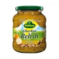 Соус Kuhne Gherkin Relish с огурцами и горчицей
