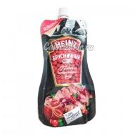 Соус брусничный Heinz деликатесный