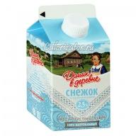 Снежок Домик в деревне продукт кисломолочный сладкий