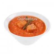 Суп из помидоров с рисом