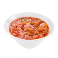 Суп из помидоров с макаронами