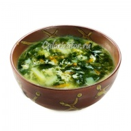 Суп из шпината с картофелем