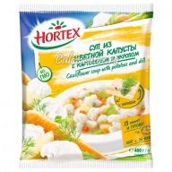 Суп Hortex из цветной капусты с картофелем и укропом