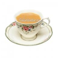 Чай чёрный со сливками 10% без сахара