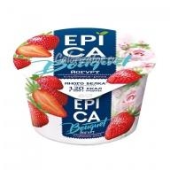 Йогурт Epica Bouquet Клубника-роза