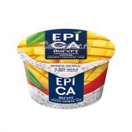 Йогурт Epica Манго и семена чиа